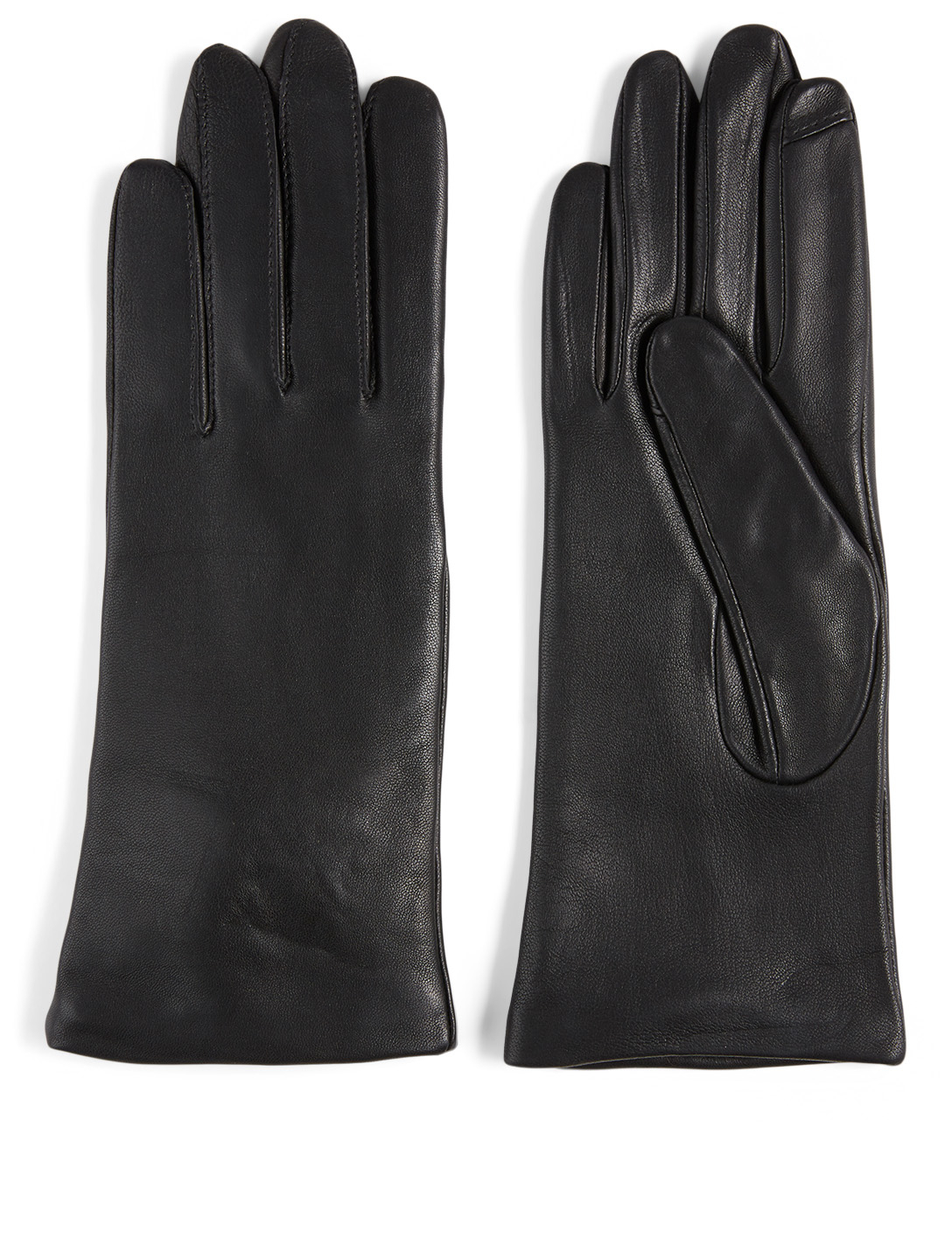 FOWNES BROTHERS & CO. Leather Tech Gloves Collections Black