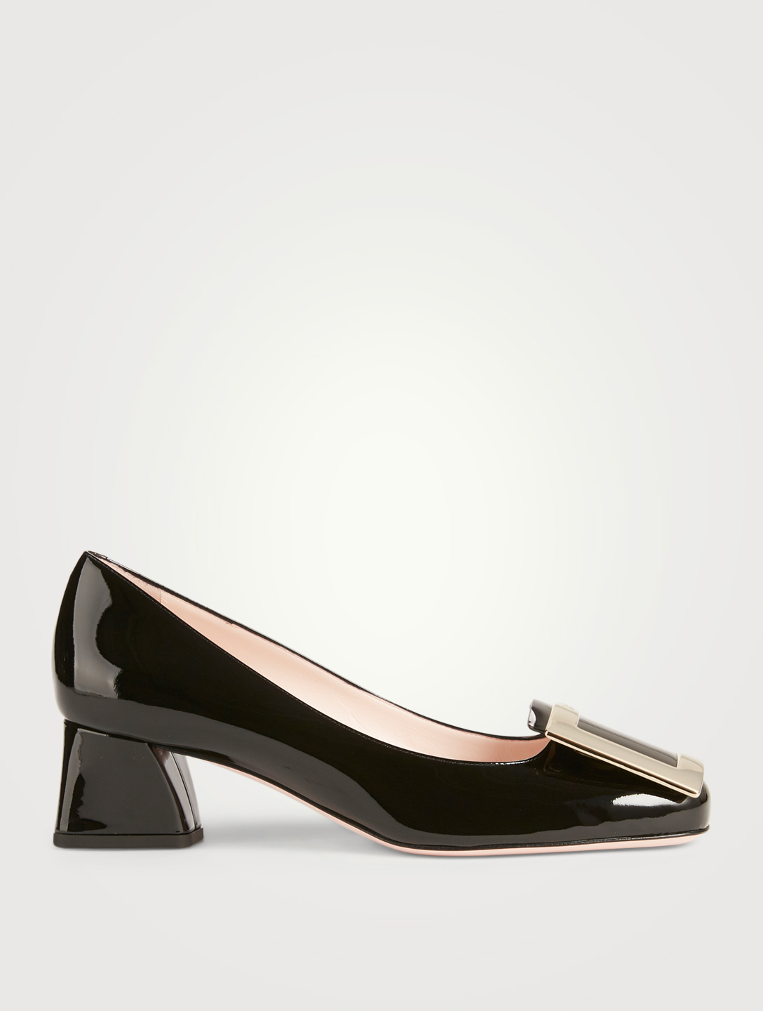 ROGER VIVIER Très Vivier Leather Pumps Womens Black