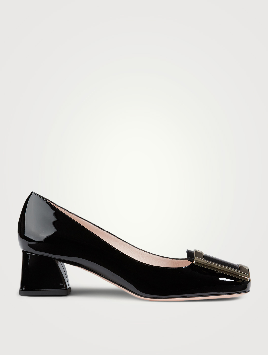 ROGER VIVIER Très Vivier Leather Pumps Women's Black