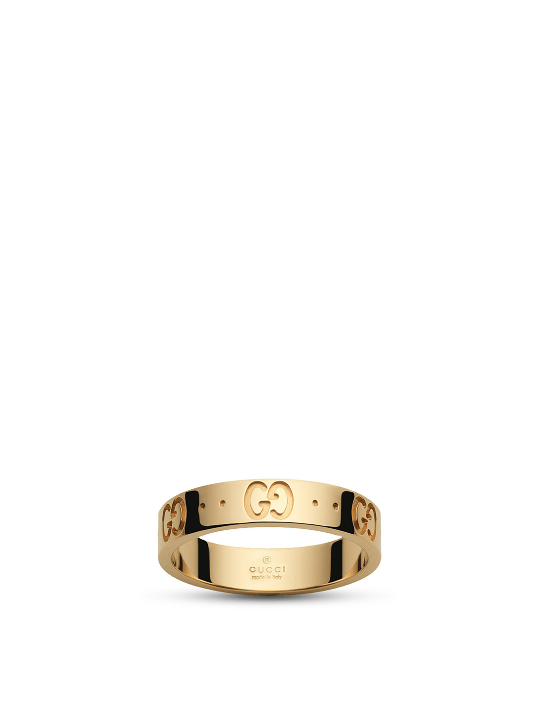 9593fc948 GUCCI Icon 18K Gold Ring | Holt Renfrew