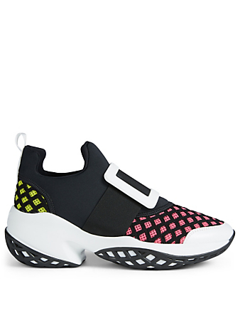 ROGER VIVIER Viv' Run Sneakers Womens Black