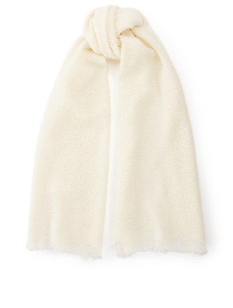 DESTIN Buddy Unito Solid Scarf Women's White