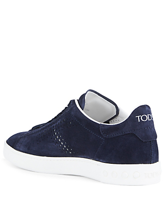 TOD'S Suede Sneakers Women's Blue