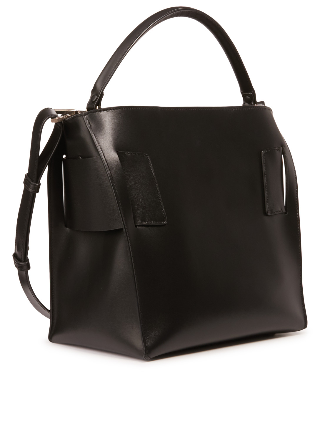 BOYY Devon Leather Hobo Bag Womens Black