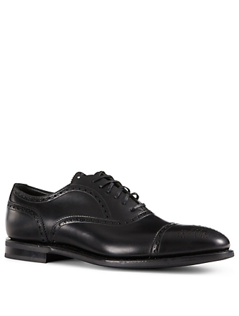 CHURCH'S Panborough Leather Oxford Brogues Men's Black