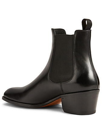 TOM FORD Webster Leather Chelsea Boots Men's Black
