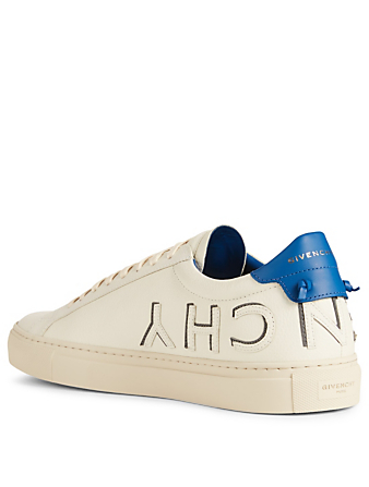 GIVENCHY Urban Street Leather Sneakers Men's White