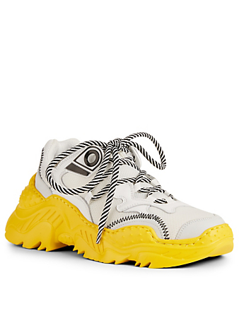 NO.21 Billy Sneakers Womens Yellow