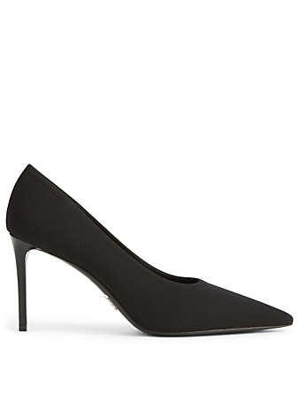 PRADA Technical Fabric Pumps Designers Black