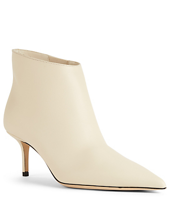 JIMMY CHOO Marinda 65 Leather Ankle Boots Womens Neutral
