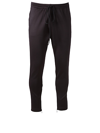 d4ac8aafb935 VALENTINO Track Pants With Piping Designers Black ...
