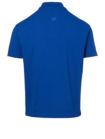KENZO Sport Logo Polo Shirt Men's Blue