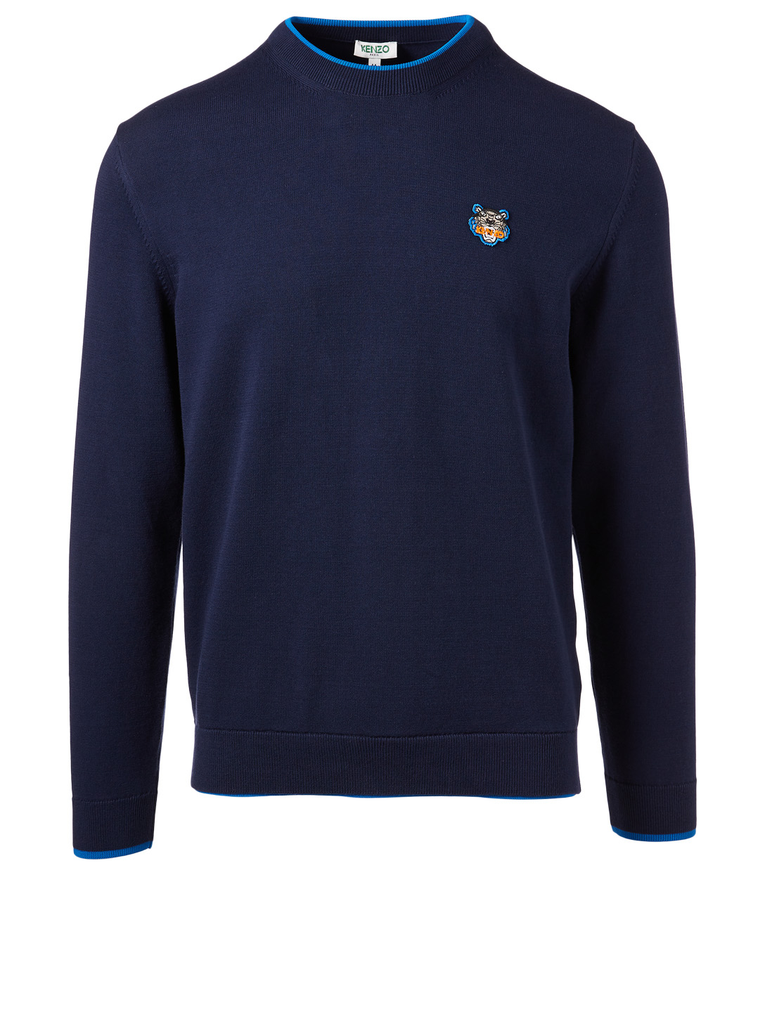 KENZO Tiger Crest Sweater Men's Blue