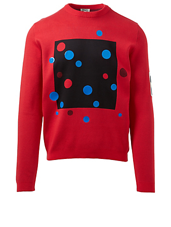 KENZO Dots Sweatshirt Men's Red