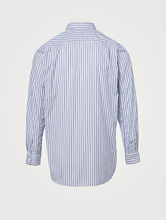 COMME DES GARÇONS PLAY Heart Shirt In Stripe Men's Blue