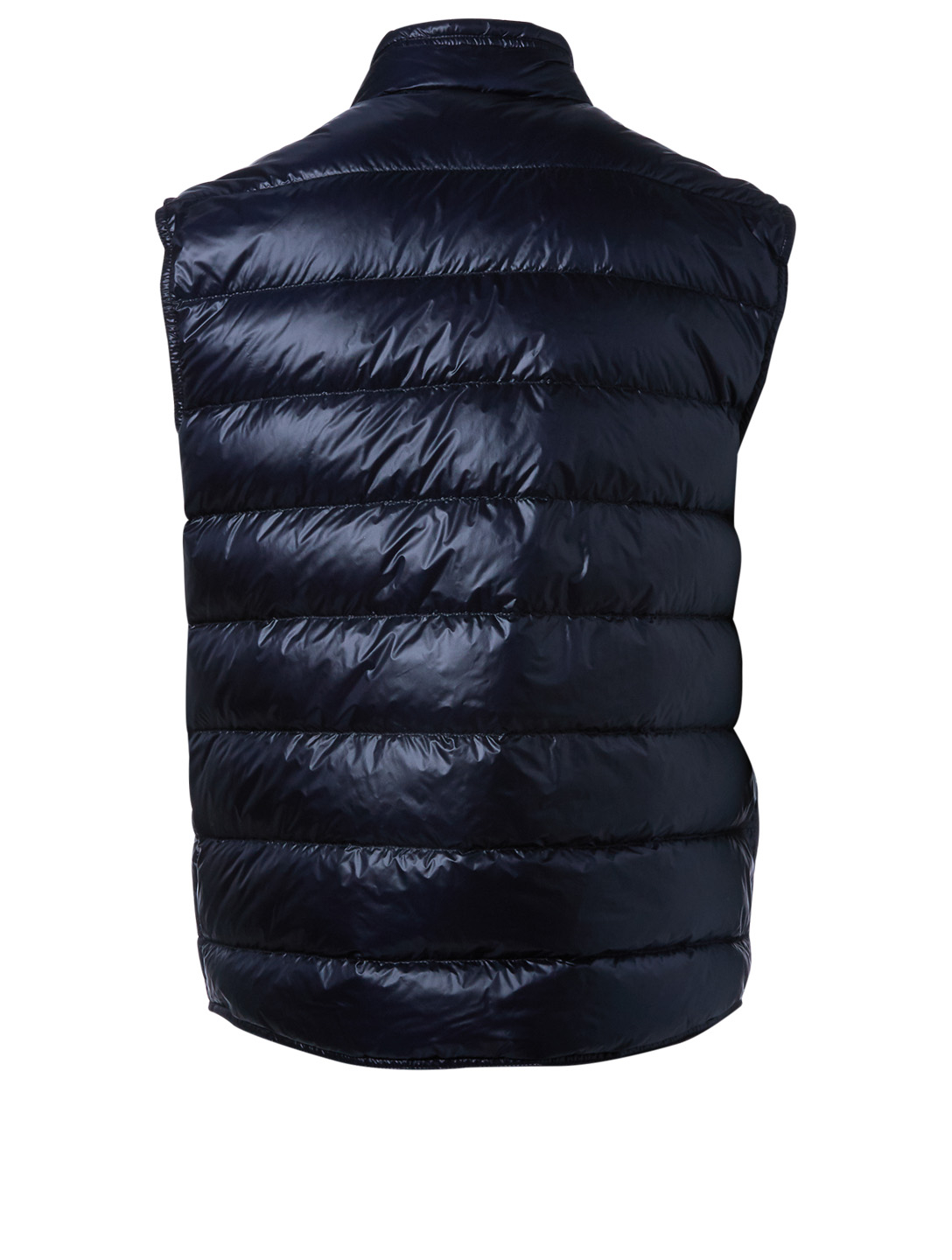 MONCLER Gui Down Puffer Vest Men's Blue