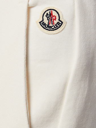 MONCLER Sweatpants With Striped Waist Men's Neutral