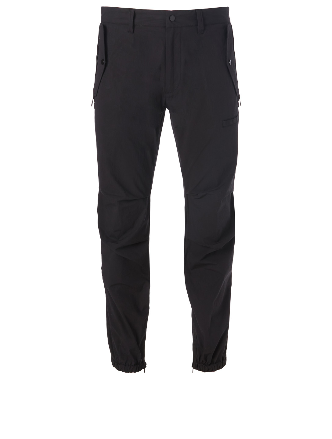 afff8811bd94a MONCLER Stretch-Cotton Pants Men's Black ...