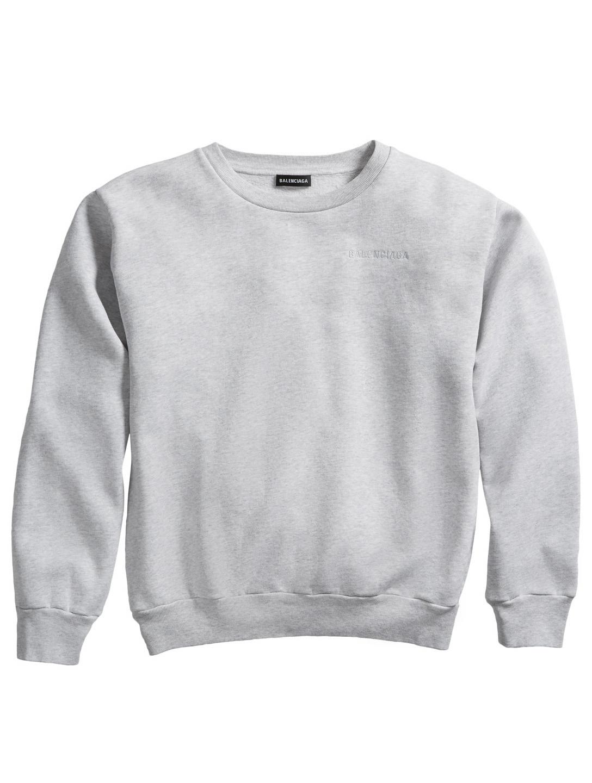 e284ceddf022 BALENCIAGA Kids Logo Crewneck Sweater