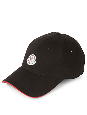 MONCLER Baseball Cap With Logo Men's Black