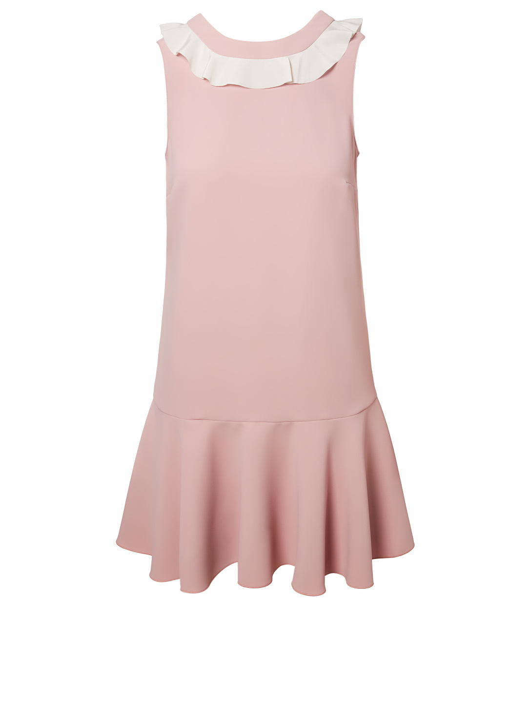 a5435f57e2cc RED VALENTINO Techno Fluid Dress With Ruffle Detail Women s ...