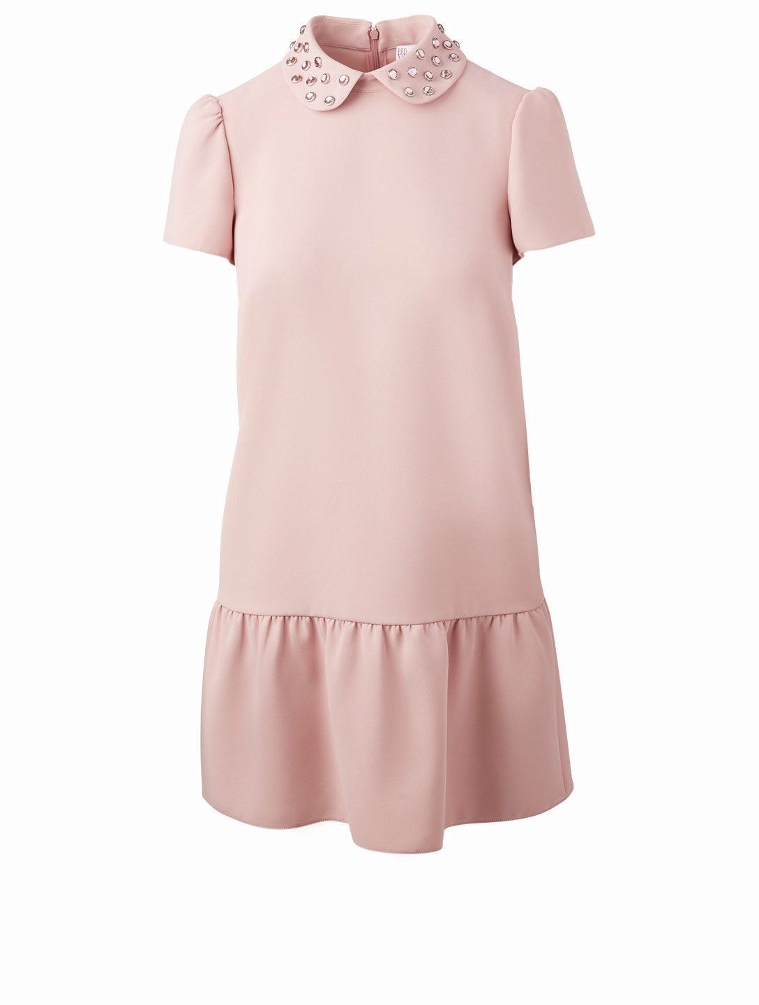 4158d588a01a RED VALENTINO Techno Fluid Dress With Crystal Collar Women s ...