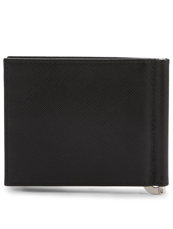 e8644a669280 PRADA Saffiano Leather Wallet With Money Clip | Holt Renfrew