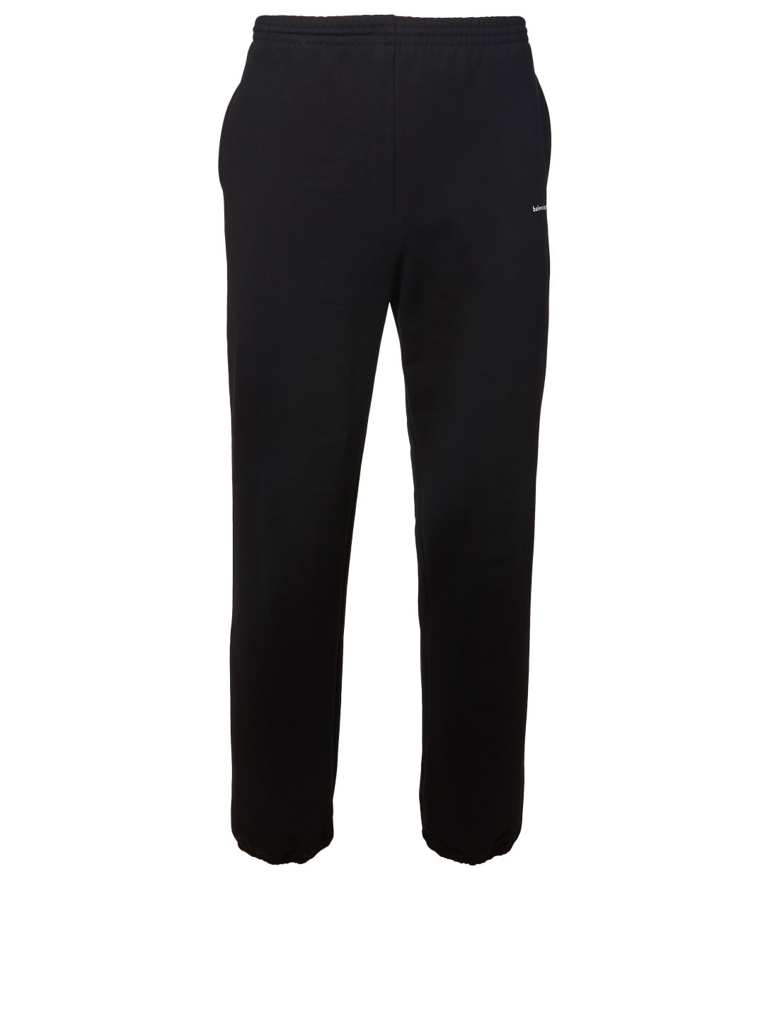 fbaf04d1e6c28e BALENCIAGA Copyright Logo Sweatpants Men's Black ...