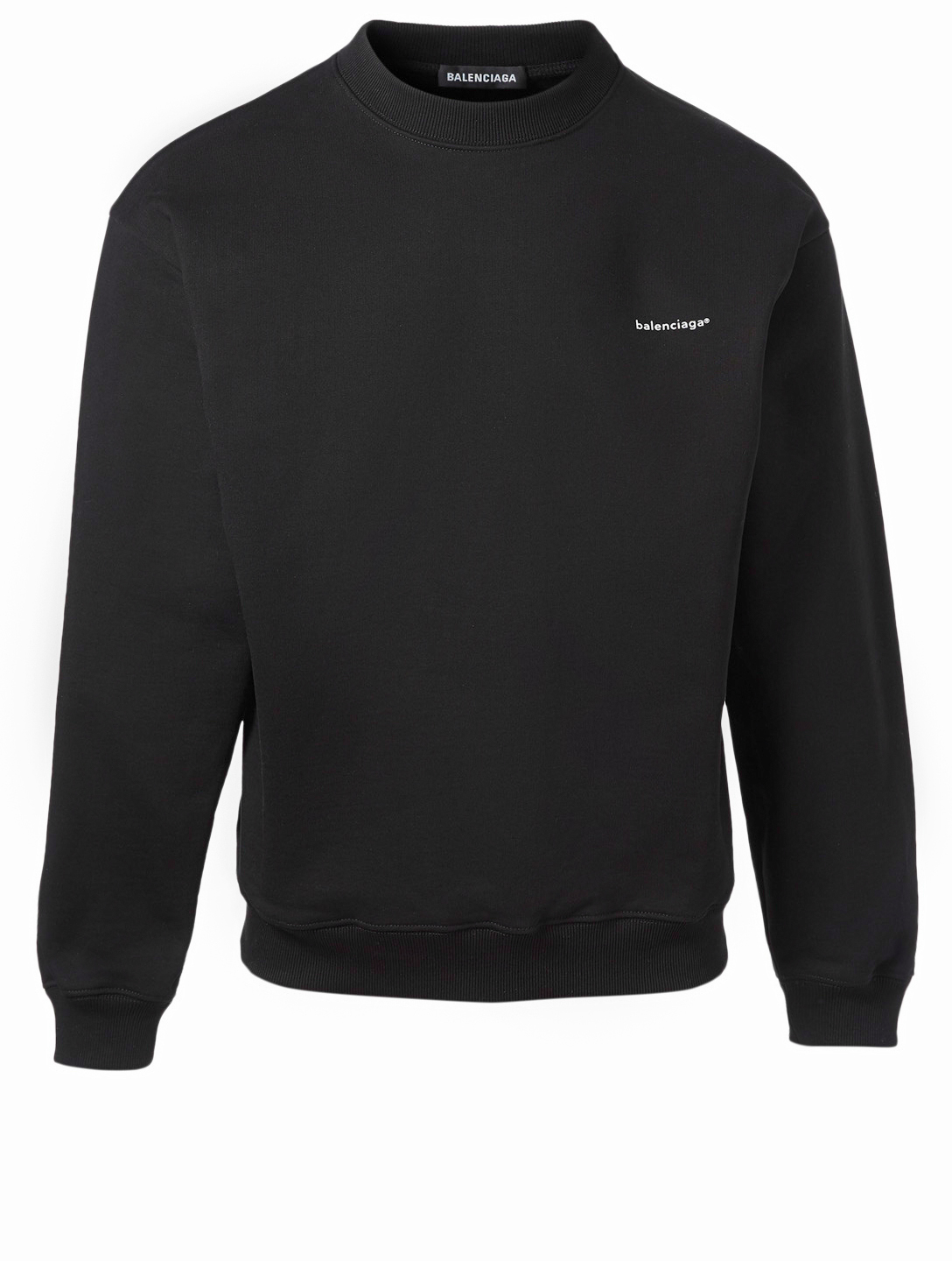 6649d540885c9f BALENCIAGA Copyright Logo Sweatshirt Men's Black ...