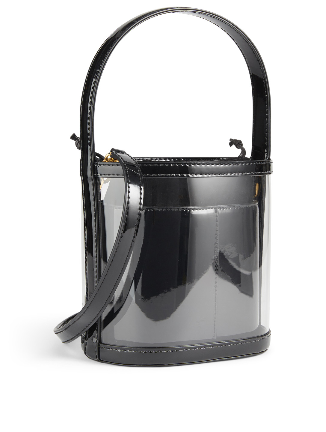 STAUD Bissett PVC Bucket Bag Womens