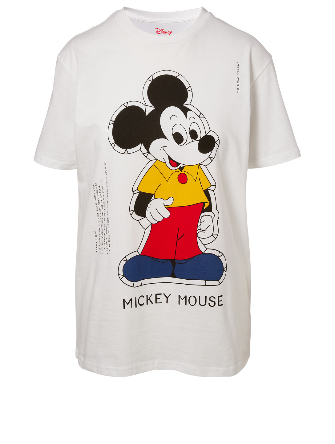 ae2d0f64 OPENING CEREMONY Disney x Opening Ceremony Paper Doll Mickey Mouse T ...