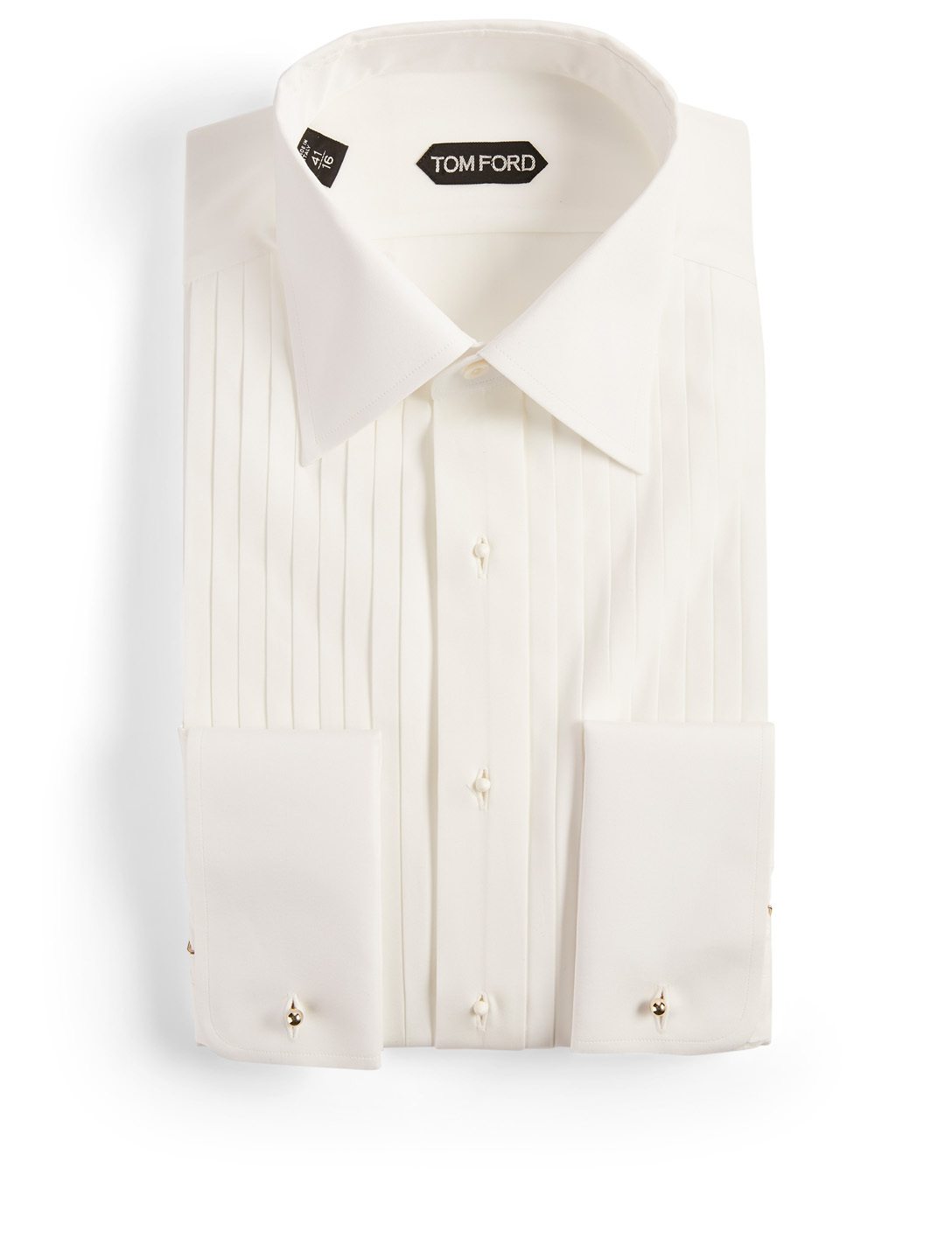TOM FORD Tuxedo Shirt Men's White
