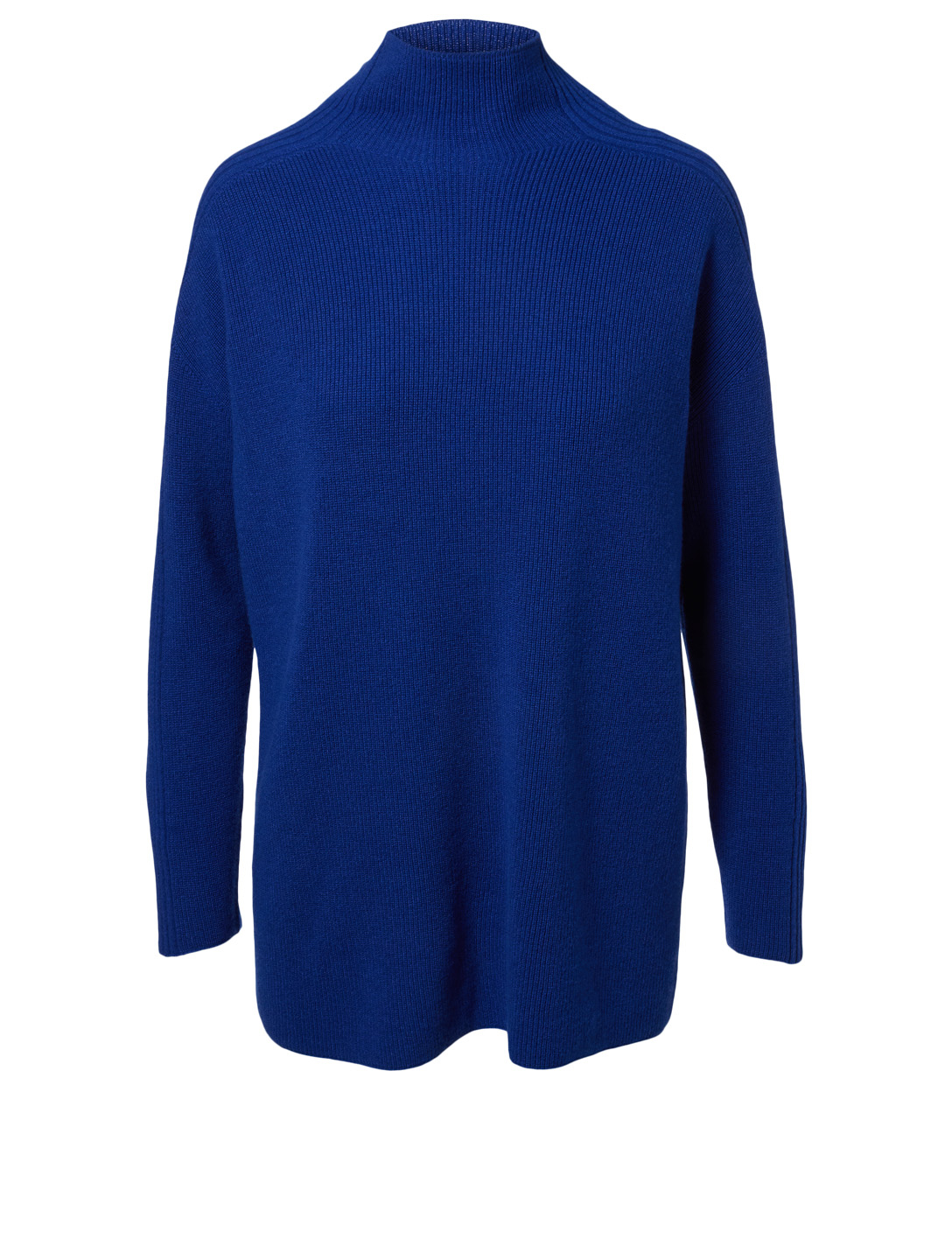 EILEEN FISHER KNT CASH FUNNEL NK Women's Blue