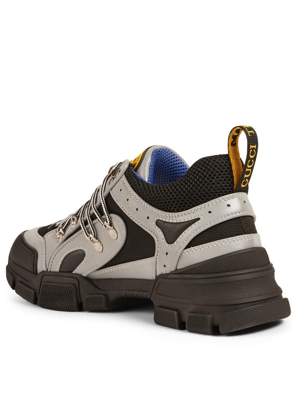 36733a03805 ... GUCCI Flashtrek Sneakers Designers Grey ...