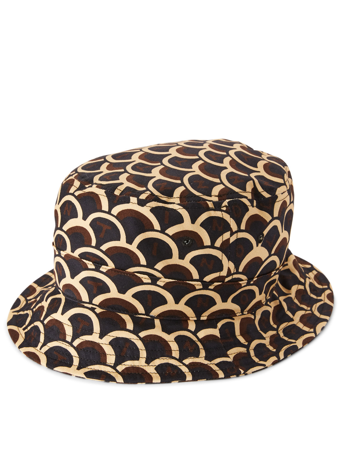 VALENTINO Bucket Hat In Logo Print Men's Multi