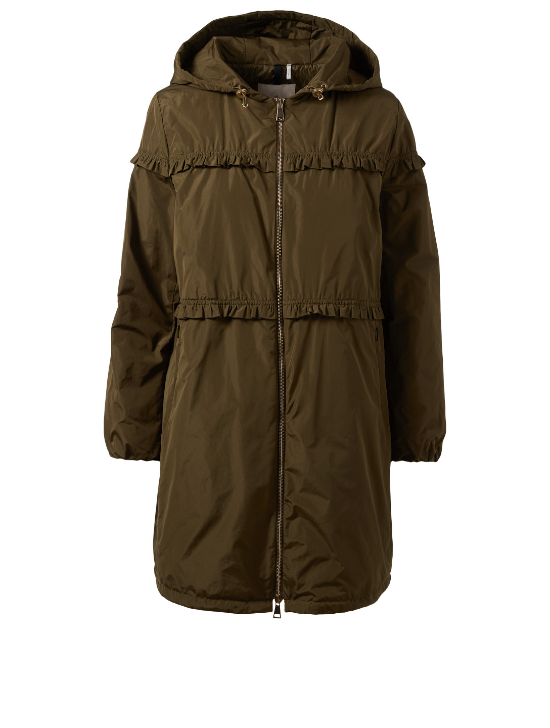 39ba2bb5d261 MONCLER Luxembourg Jacket With Ruffle Trim   Holt Renfrew