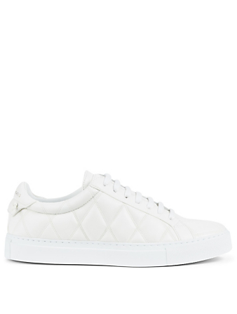 GIVENCHY Urban Street Quilted Sneakers Women's White