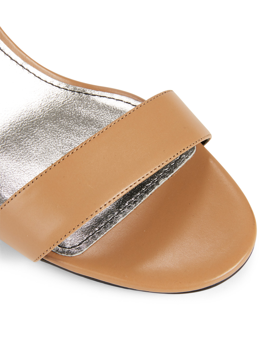 1c5b3a03d5062 ... GIVENCHY Leather G Heeled Sandals Women's Neutral