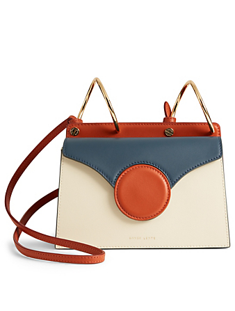 DANSE LENTE Mini Phoebe Leather Shoulder Bag Women's Multi