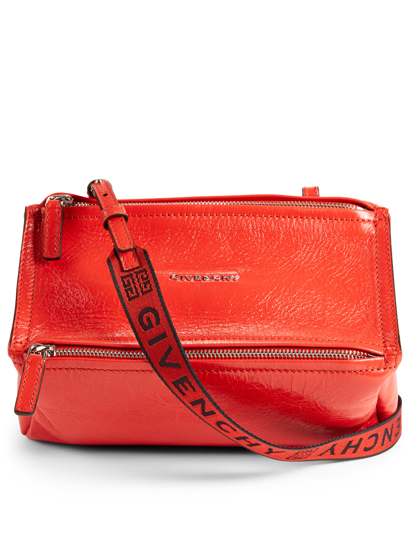 d4b6a700a5 GIVENCHY Mini Pandora Leather Bag