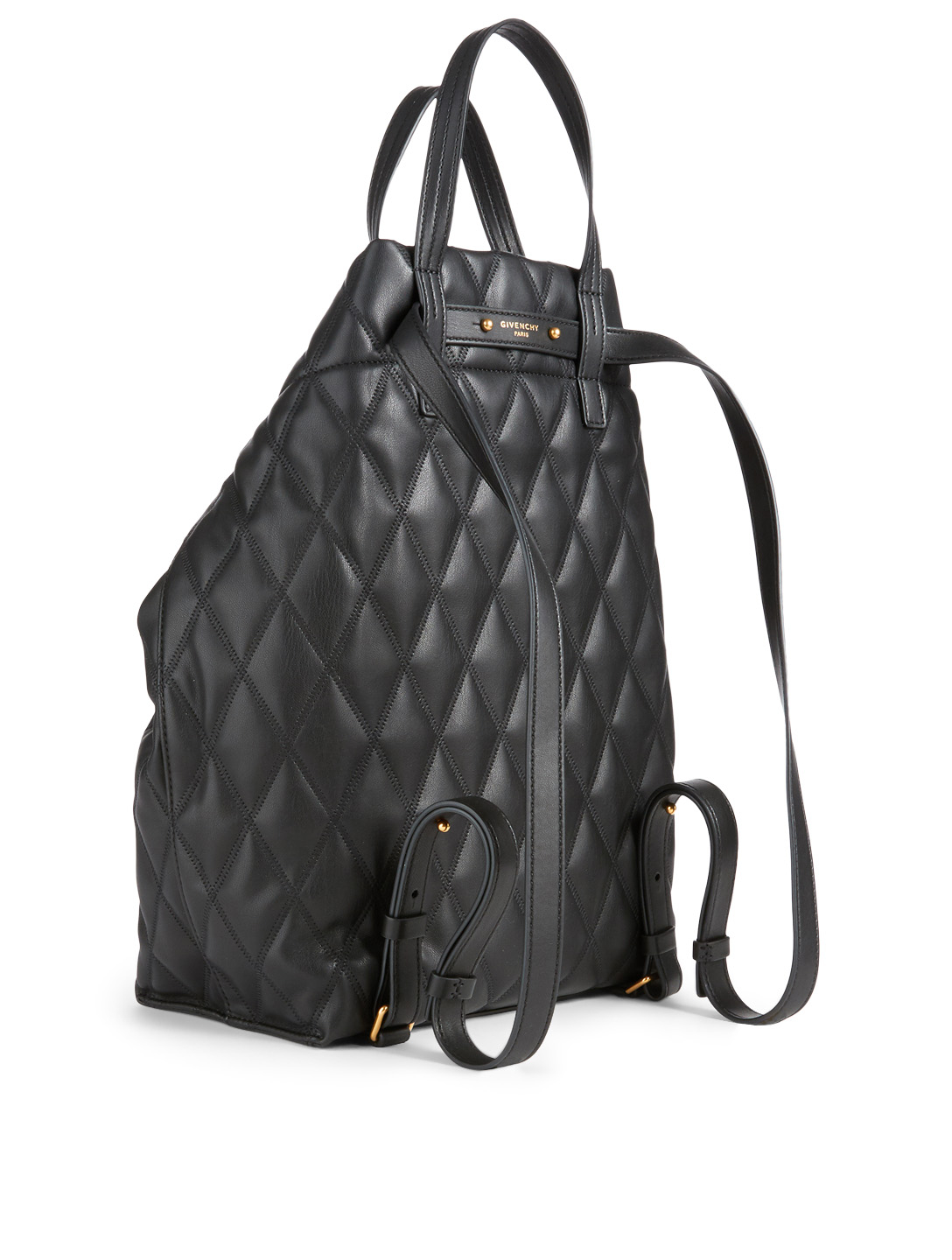 30956337b6fb ... GIVENCHY Small Duo Quilted Backpack Designers Black ...