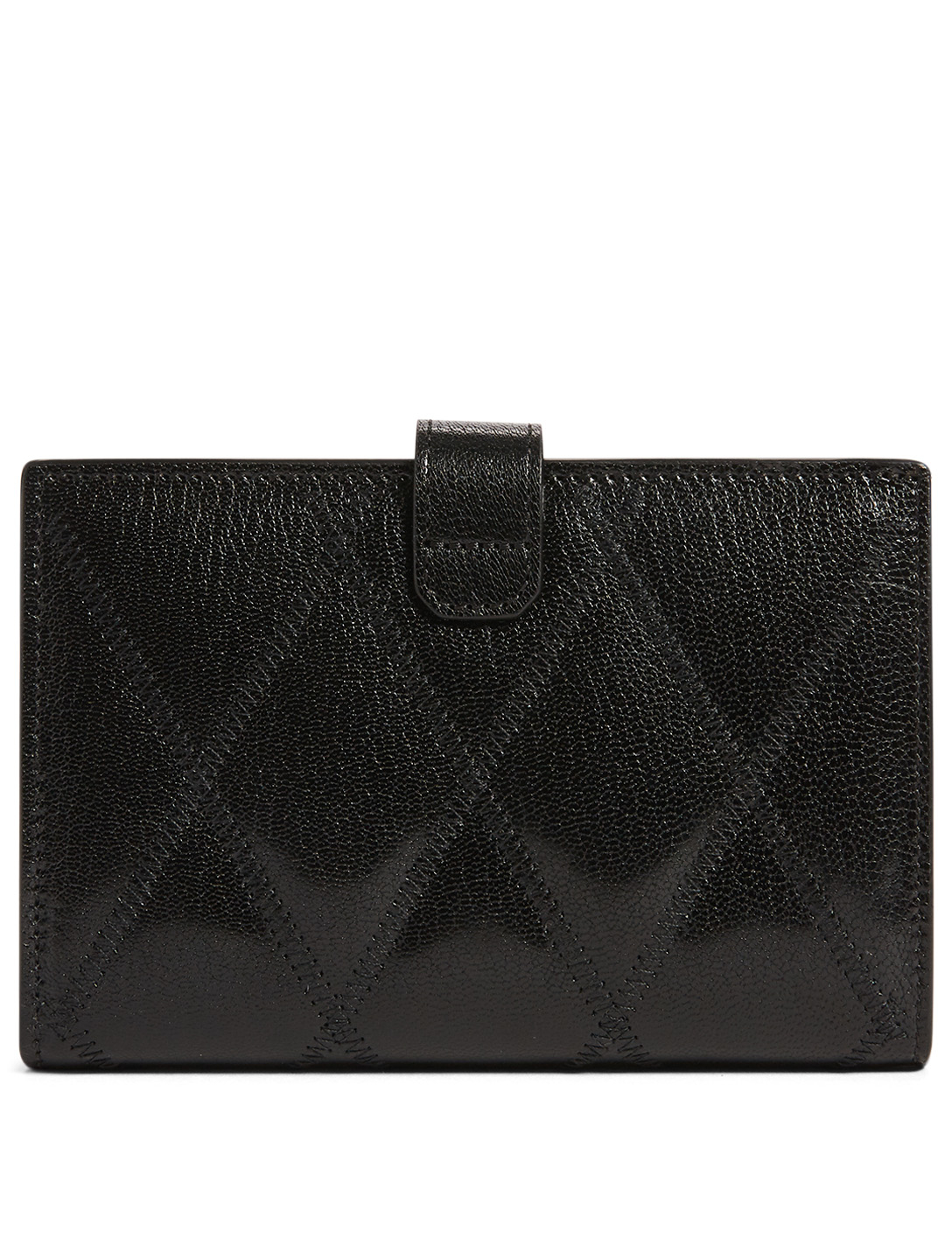 acbb70703a0 ... GIVENCHY Medium GV3 Quilted Leather Bifold Wallet Women's Black ...