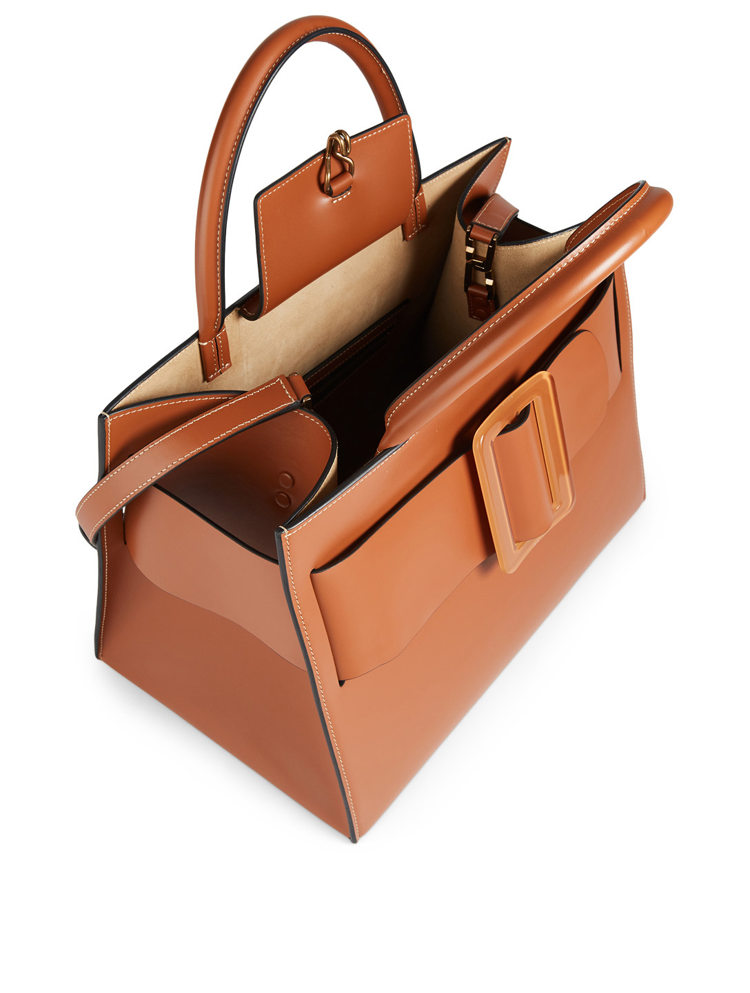 BOYY Bobby Leather Top Handle Bag Womens Brown