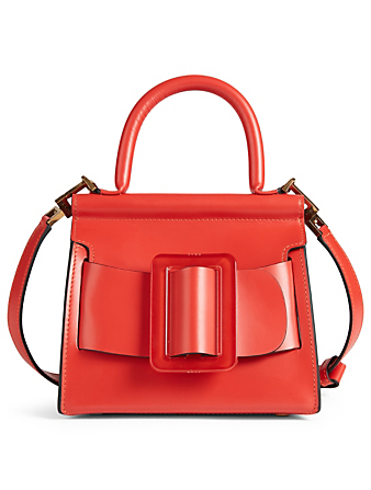BOYY Karl 19 Leather Top Handle Bag Womens Red