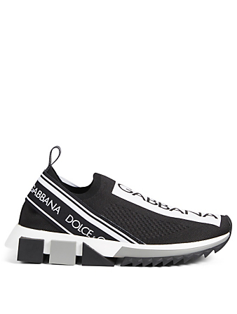 DOLCE & GABBANA Sorrento Logo Sneakers Women's Black
