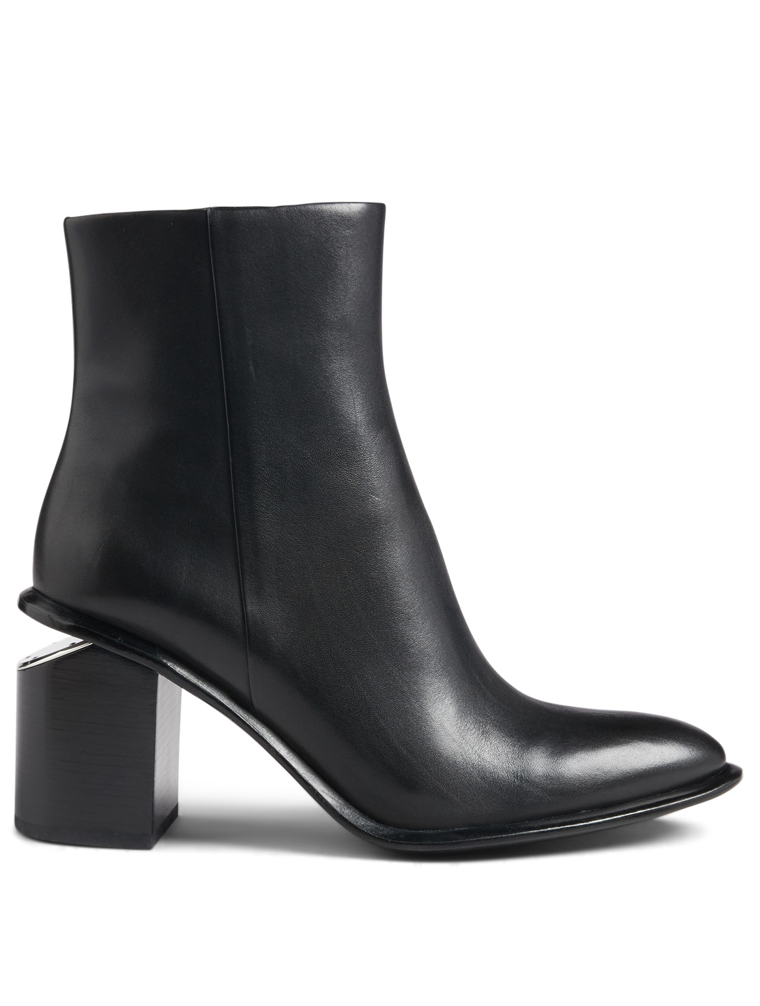 80c286f12b562d ALEXANDER WANG Anna Leather Ankle Boots