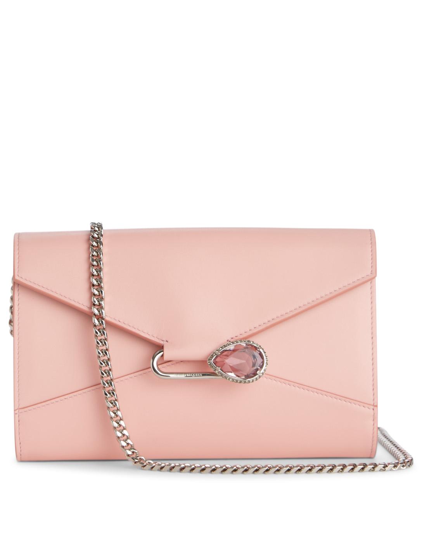c6f795ee0246 ALEXANDER MCQUEEN Pin Leather Chain Wallet Bag | Holt Renfrew