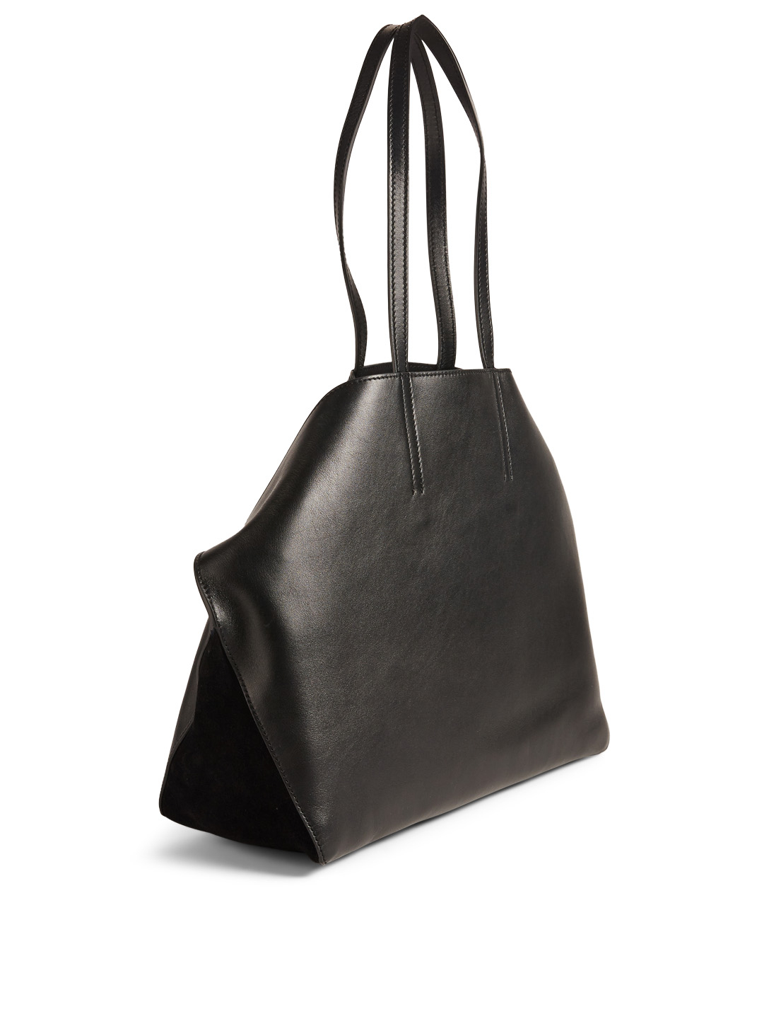ALEXANDER MCQUEEN Butterfly Leather Tote Bag Women's Black
