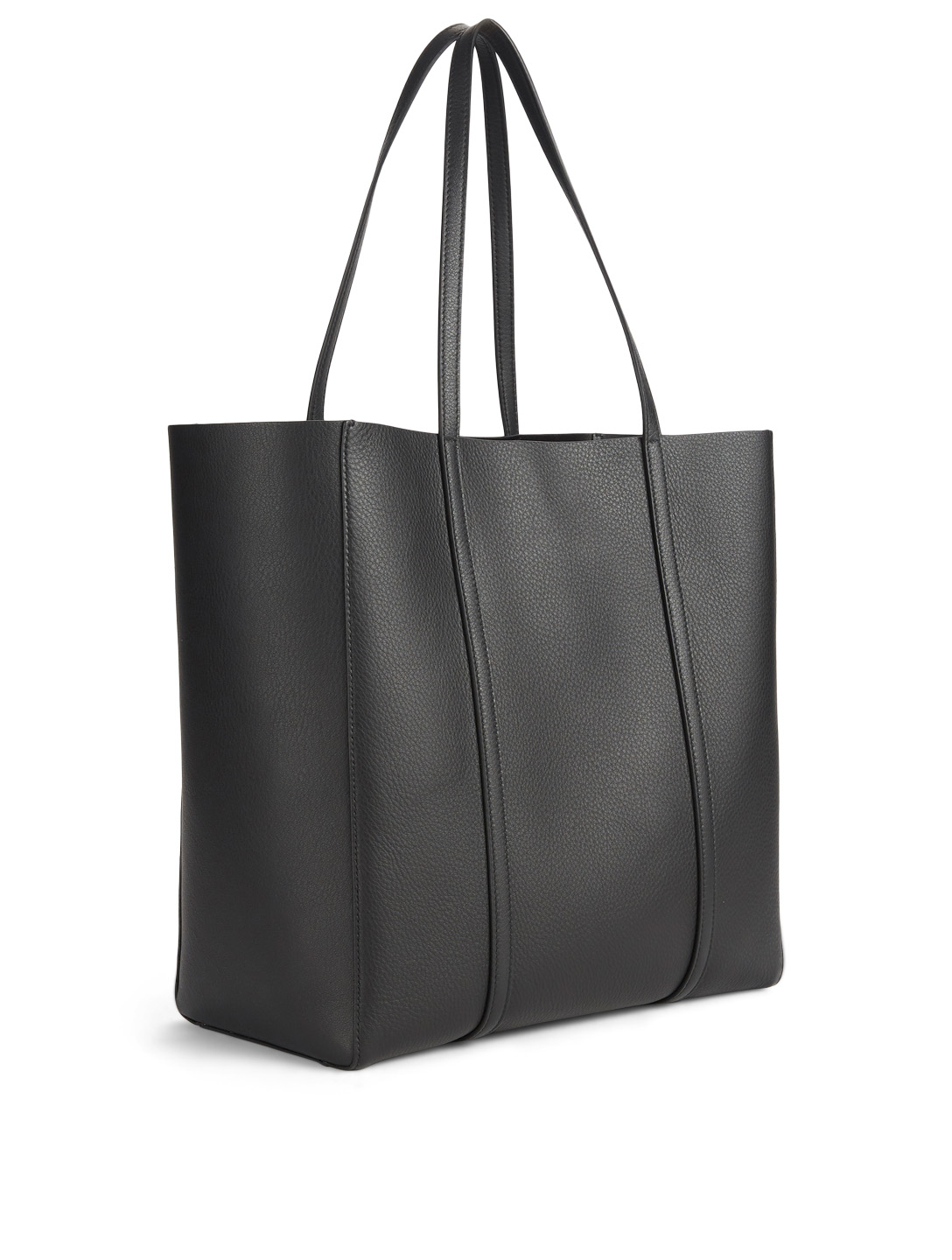 BALENCIAGA Small Everyday Leather Tote Bag Women's Black