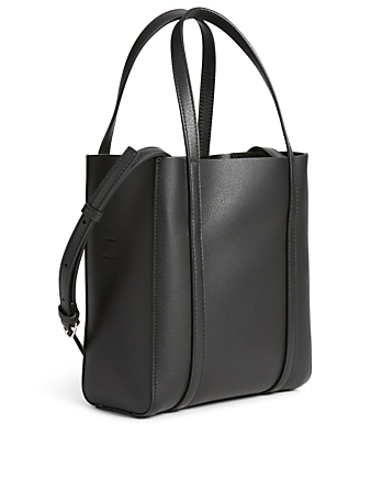 BALENCIAGA XXS Everyday Leather Tote Bag Women's Black